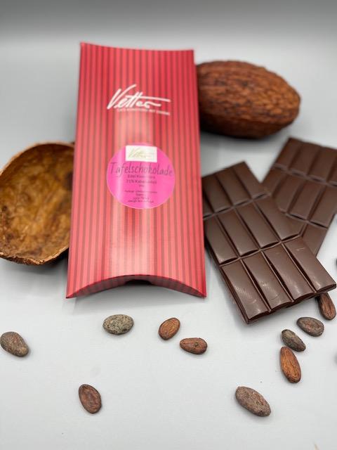 Tafelschokolade In BIO Qualität 70% Kakaoanteil